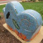 mosaic sculpture