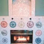 #15. Pique-assiette fireplace