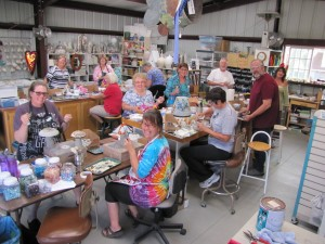 Mixed media mosaic workshop